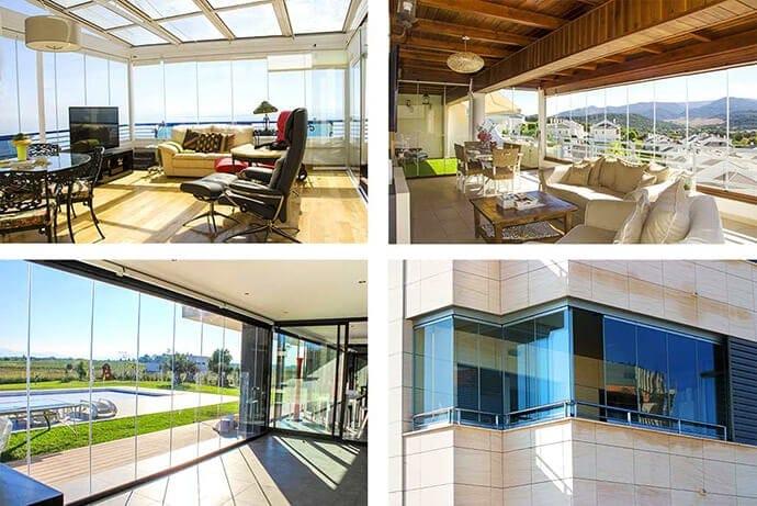 Vetrate panoramiche belle vetrate scorrevoli for Le belle vetrate scorrevoli