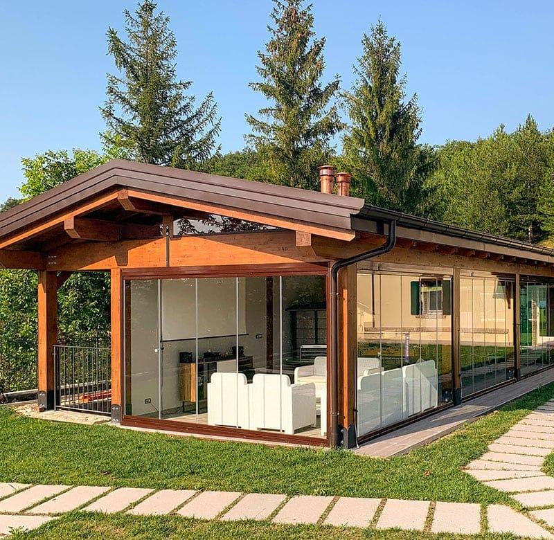 10 vantaggi delle vetrate pieghevoli impacchettabili