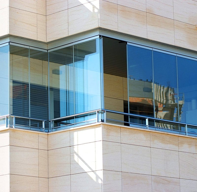 vetrate panoramiche per balconi