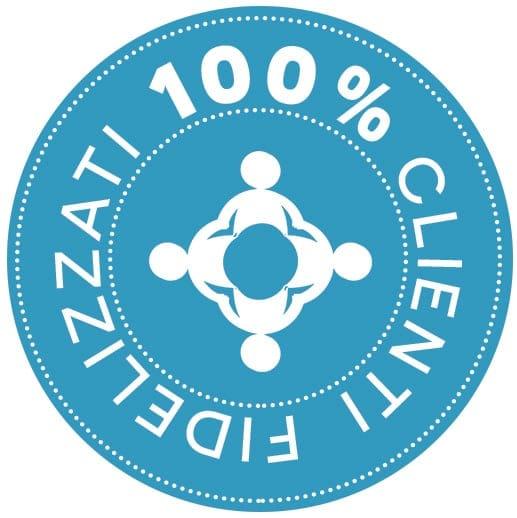 clienti 100% soddisfatti